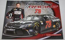 2016 Martin Truex, Jr. Furniture Row Toyota Camry NASCAR Sprint Cup postcard