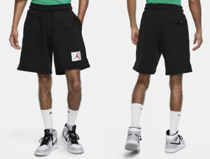 Nike Air Jordan Jumpman Flight Fleece Knit Shorts Black Men's XL New