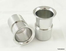 WEBER 40 DCOE 39mm RAMPIPES/AIRHORNS/TRUMPETS PAIR ALLOY FREE POSTAGE UK