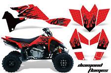 ATV Graphics Kit Quad Decal Sticker Wrap For Suzuki LTR450 2006-2009 DFLAME K R