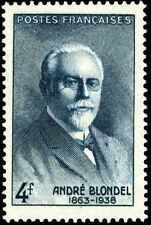 STAMP / TIMBRE FRANCE NEUF N° 551 * PHYSICIEN ANDRE BLONDEL