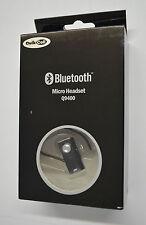 Neuf QuikCell Ultra Léger Petit Universel Casque sans Fil Bluetooth Q9400 Noir