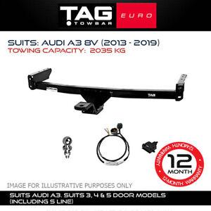TAG Euro Towbar Fits Audi A3 2013-2019 Towing Capacity 2035Kg 4x4 Exterior