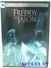 Freddy vs. Jason Dvd Movie 2004 Platinum Series 2 Disc Set Great Horror Like New