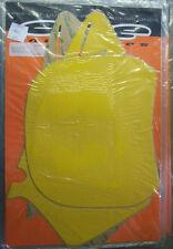 One Industries Background Kit YELLOW Yamaha YZ125 YZ250 2000 2001 YZ 125 250