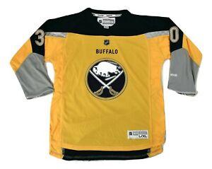 Reebok NHL Youth Buffalo Sabres Ryan Miller Hockey Jersey NWT S/M, L/XL