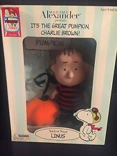 Madame Alexander Linus Doll It's The Great Pumpkin Charlie Brown Buy Today!