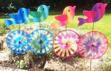 Set of 2 Bird Garden Windmills Wind Spinners Ornament Windmill Spinner Patio