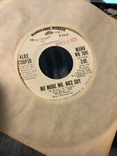 ALICE COOPER  No More Mr Nice Guy  rare promo 45 from 1973 NM