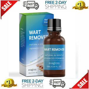 Fast Acting Wart Remover Plantar and Genital HPV Treatment Liquid Painless  NEW