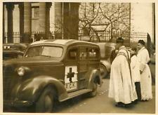 Paris mars 1940, à l'église polonaise de la rue du faubourg St Honoré Vinta