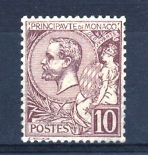 """MONACO STAMP TIMBRE N° 14 """" PRINCE ALBERT 1er 10c LILAS-BRUN """" NEUF xx LUXE R950"""