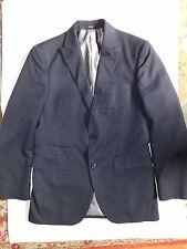 J. Ferrar~Navy Blue pinstripe Suit 36R Pants 30x32~LN