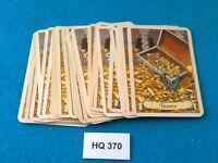 Heroquest/RPGWarhammer Quest - Mazo Completo de Cartas de Tesoro - HQ370