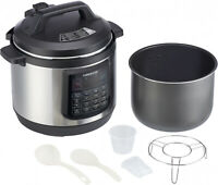 Countertop Digital Pressure Cooker Programmable 8 Qt Stainless Steel Cooking Pot