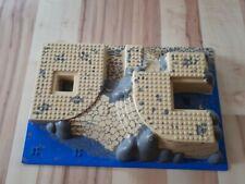 Lego 3D Platte Bauplatte 44510pb03 Set 7047 Baseplate Coast Watch HQ