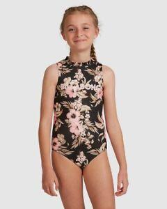 BNWT BILLABONG GIRLS KIDS SUMMERTIME ONE PIECE SIZE 10 RRP $79.99