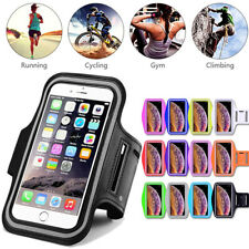 For iPhone 11 Pro Max Xs X 8 7 Armband Case Sport GYM Running Exercise Arm Band