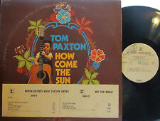 "Tom Paxton -How Come the Sun (Reprise 6443) '71(""I Had to Shoot That Rabbit"") PL"