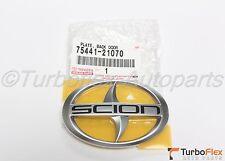 Scion tC 2005-2010 Rear Trunk Logo Emblem Genuine OEM      75441-21070