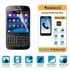 3x PELLICOLA per Blackberry Classic FRONTE + PANNO PROTETTIVA DISPLAY