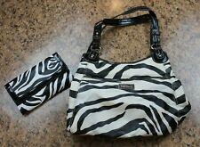 Nine & Co - Handbag & Wallet - Zebra Pattern - 4 Compartments