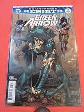 GREEN ARROW #3 DCU Rebirth - Adams Variant cvr - bagged & boarded.!