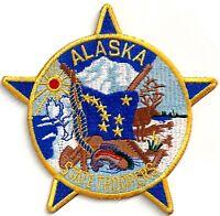 ALASKA STATE TROOPER - SHOULDER IRON ON PATCH