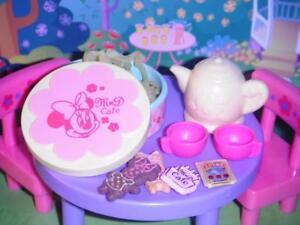 Rement Minnie & Daisy Cafe Tea Canister fits Barbie Dollhouses Cookies Tea Set