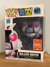 Funko Pop-Killer moth 647-Teen Titans Go! - SDCC 2018-en main!
