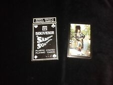 Bridge Playing Cards PIPER pack - SEALED - picture back - black borders