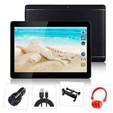 "Paquete Tablet 10.1"" pulgadas Android 8.0 con kit de coche, auriculares, reposacabezas montaje."