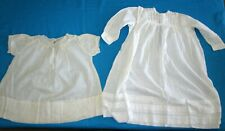 Antique lot baby-doll clothes