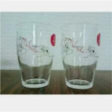 Tom and Jerry glass pair glass