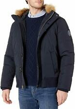 Tommy Hilfiger Mens Arctic Cloth Quilted Snorkel Bomber...