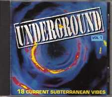 Compilation - Underground Vol 1 - CD - 1993 - Eurohouse Trance