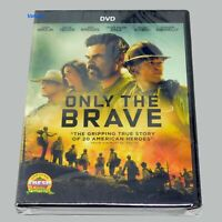 Only the Brave DVD Brand New sealed Widescreen Free Fast Shipping