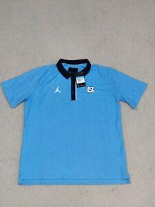 Men's Nike Jordan UNC North Carolina Tar Heels Polo CQ6529-448 New With Tags