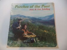 NEW! Jean and Lee Schilling - Porches of the Poor LP dulcimer autoharp Tennessee