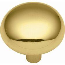 Belwith P210-Ub Ultra Brass Cabinet Door Round Knob 00004000  - Pk 4
