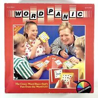 VINTAGE Word Panic Board Game - Crazy Word Race by Coleco Games