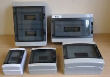 Weatherproof Consumer Unit Enclosure RCD MCB RCBO Busbar IP65 Electrical Box