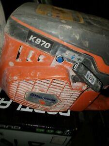 "Husqvarna K970 Power Cutter Gas Powered 16"" Concrete Cut-Off Saw"