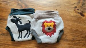 Wool diaper covers 12-18 months - Set of 2 -  CUTE