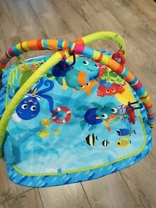 Baby Einstein Nautical Friends playmat and gym