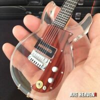 KEITH RICHARDS - See-thru Dan Armstrong 1:4 Scale Replica Guitar ~Axe Heaven~