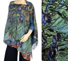 Shawl/Scarf - Fine Art Design - Irises by Van Gogh - Gorgeous Accessory