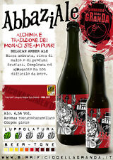 12 bottiglie Birra Rossa Abbaziale birrificio Granda 33 cl (Belgian Amber Ale)