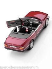 Mercedes Benz W 124 - E 300 CE 24 V Cabriolet 1992 Almadinrot 1:18 Neu OVP