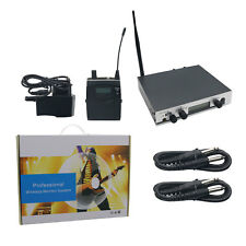 IEM300 Stage Professional UHF Wireless In-Ear Headphones Monitor System TX+RX